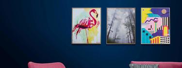El doble uso llega a las paredes, os presentamos unos bonitos cuadros con firma de autor que integran unos altavoces para el hogar