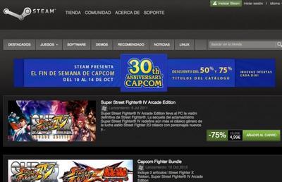 Capcom cumple 30 años: descuentos de hasta 75% en sus juegos vía Steam para Windows