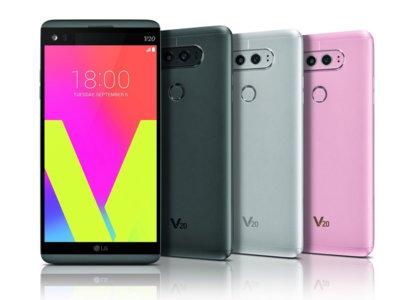 LG V20, comparativa: así se queda la gama alta Android con lo más nuevo de LG