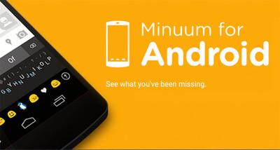 Minuum 3.2, ahora con espaciado inteligente y tipeado multilingüe
