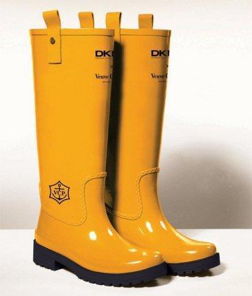 Botas de agua de DKNY para Veuve Clicquot