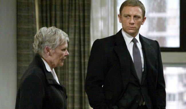 Judi Dench confirma que Sam Mendes prepara la 23ª entrega de James Bond