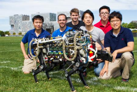 El robot guepardo del MIT ya es todo un espectáculo corriendo y saltando