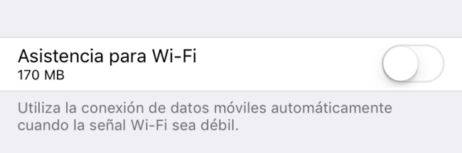 Asistencia Wifi Ios
