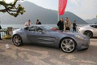 El Aston Martin One-77 en vivo en el Concorso d'Eleganza Villa D'Este