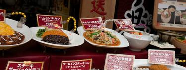 Comida falsa pero irresistible: así muestran sus menús los japoneses