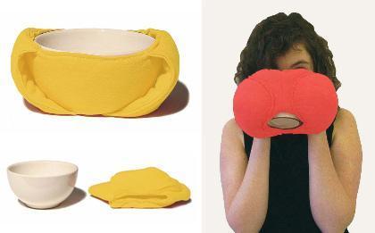 Tazas y bowls con abrigo