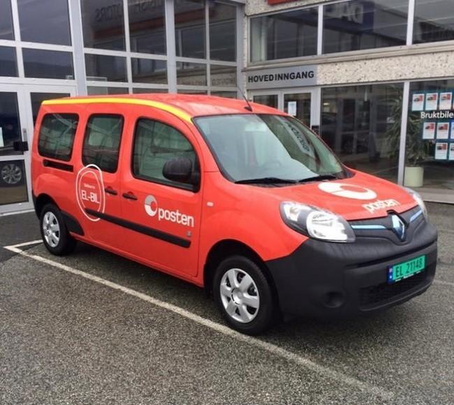 Renault Kangoo Z E Correo Noruega