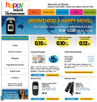 Happy Móvil, segundo OMV