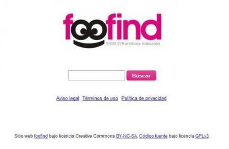 Foofind, un buscador de archivos P2P