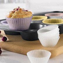 Moldes de silicona para muffins