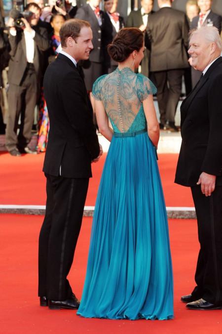 Espalda Kate Middleton Jenny Packham