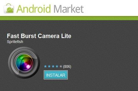 Fast Burst Camera añade ráfaga a la cámara de tu Android