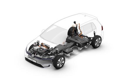 Volkswagen e-Golf esquema arquitectura