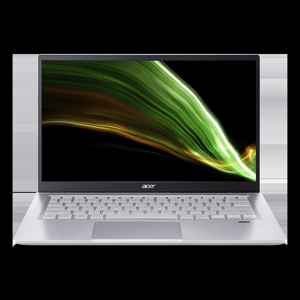"Acer Swift 3 Portátil Ultrafino | SF314-43 | Plata Windows 10 Home 64-bit Procesador AMD Ryzen™ 3 5300U Quad-core (4 núcleos) 2,60 GHz 35,6 cm (14"") Full HD (1920 x 1080) 16:9 IPS 8 GB, LPDDR4X 512 GB SSD"