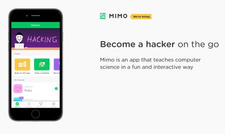 Capturas de pantalla de la app Mimo