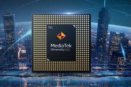 MediaTek Dimensity 820: el nuevo procesador 5G para la gama media más premium