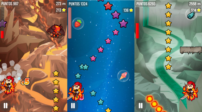 Sweet Sins, a colorful endless runner featuring adorable ...