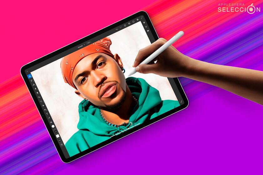 """Incredible iPad Pro (2021) with 12.9 """"Mini LED screen, M1 ..."""
