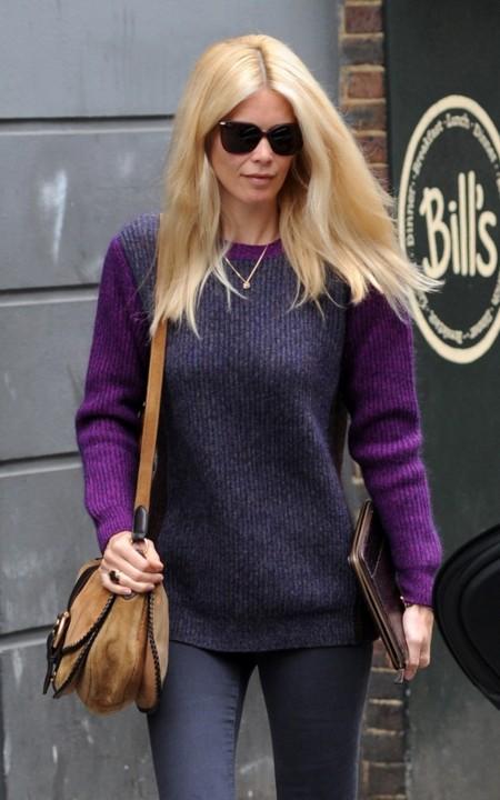 ¿Qué es cool? Cool es Claudia Schiffer vestida de calle