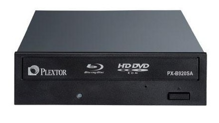 Unidades híbridas de Plextor: Blu-ray y HD-DVD