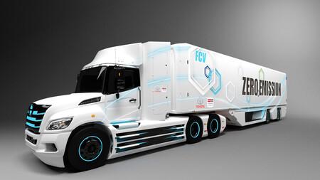 camion hidrógeno fuel cell