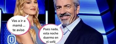 Carlos Sobera se va de la lengua y pone en un aprieto a su hijastra, Arianna Aragón, la atractiva azafata de 'El Precio Justo'