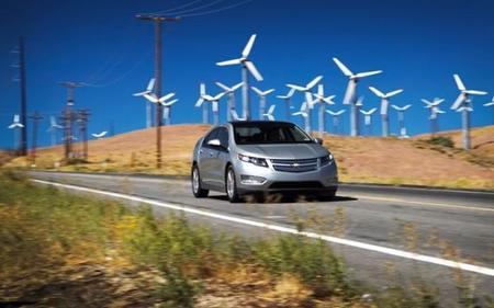 Chevrolet Volt en movimiento