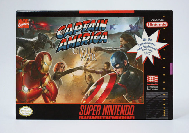 Snes Captain America Civil War