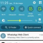 WhatsApp te avisa si tienes una sesión abierta de WhatsApp Web o para PC