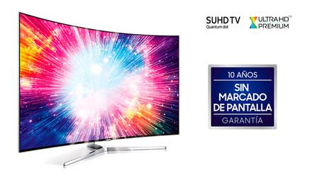 Samsung se desmarca de OLED y garantiza sus teles QLED contra el quemado de imágenes durante 10 años