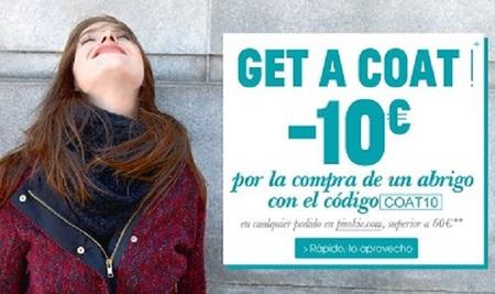 Cómprate un abrigo en Pimkie y paga  10 euros menos