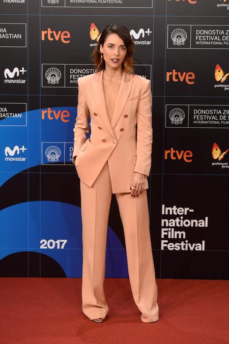 festival de cine de san sebastian alfombra roja Leticia Dolera