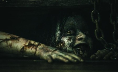 La primera imagen oficial que salió de Evil Dead
