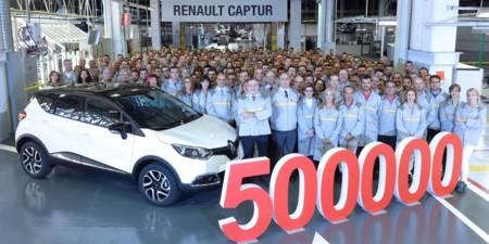 El Renault Captur medio millón se ha fabricado en Valladolid