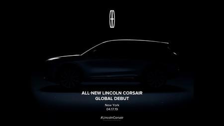 Lincoln revela el primer teaser del Corsair 2020, el esperado sustituto del MKC