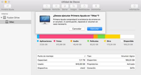 Utilidad de Discos OS X El Capitan