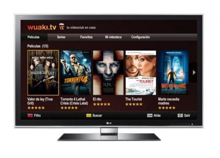 Wuaki en smart TV