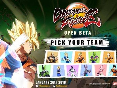 Dragon Ball FighterZ: este fin de semana hay beta abierta y estos son los 11 personajes disponibles
