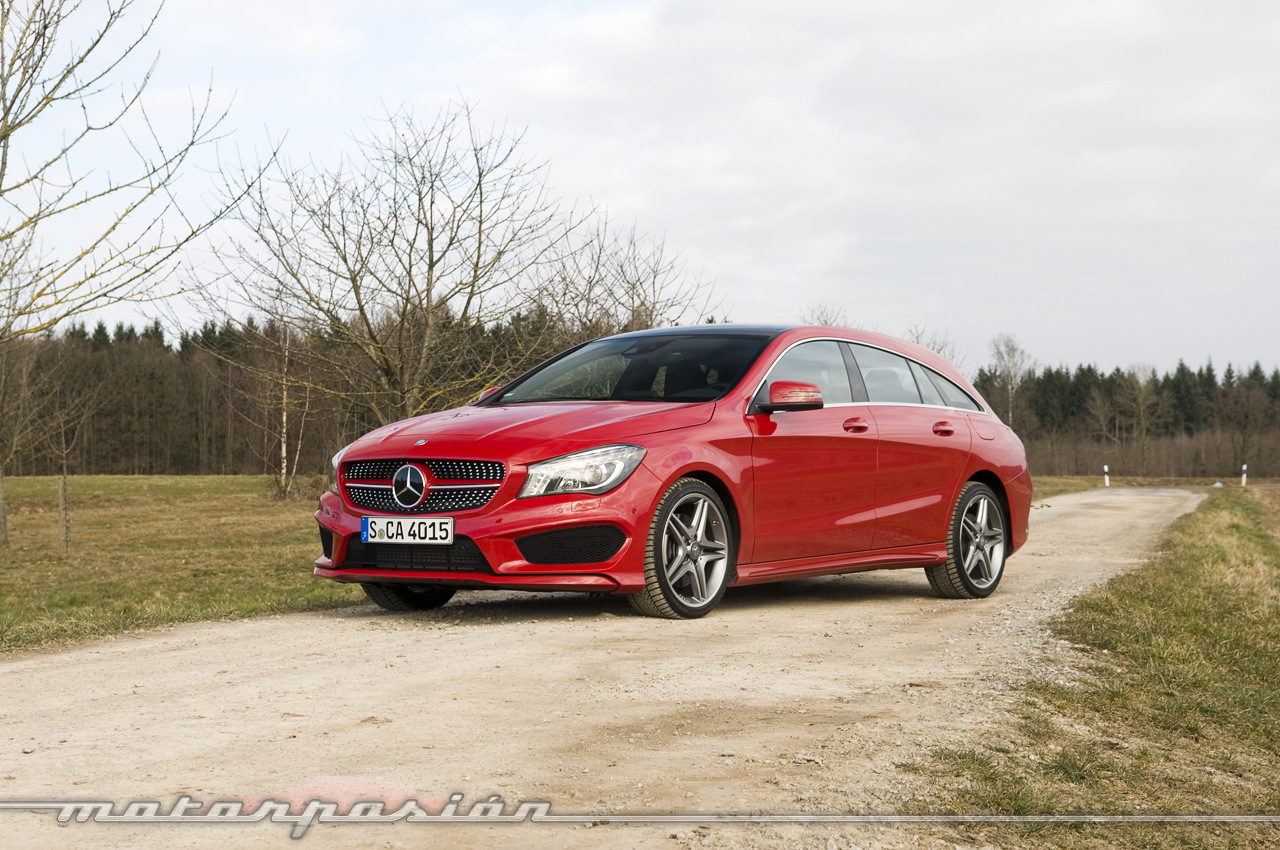 Mercedes Benz Cla Shooting Brake Toma De Contacto 1 24