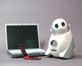 PaPeRo mini, el pequeño robot de NEC