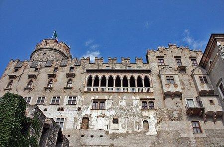 Castello del Buonconsiglio en Trento (Italia)