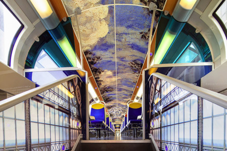Impressionist Art Public Trains France 12