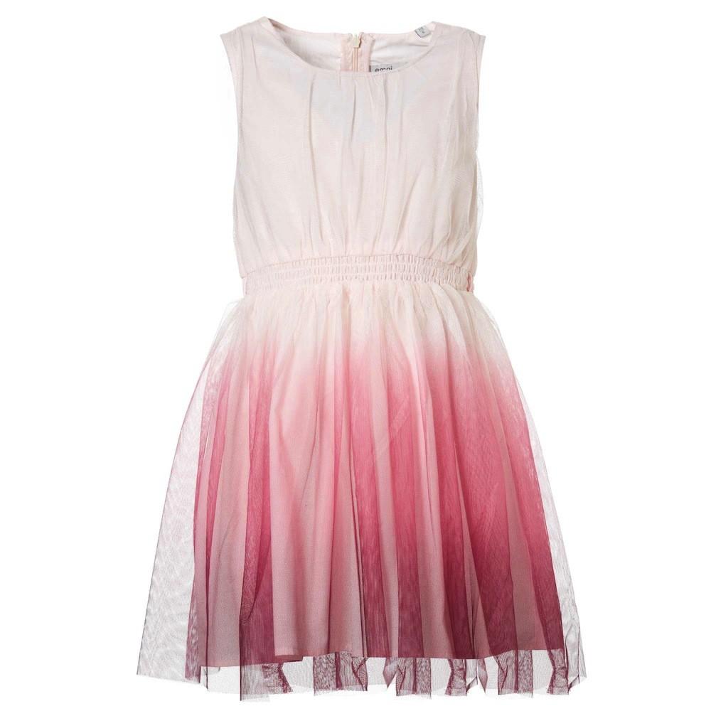 Lujo Vestido De Fiesta Rosa Niñas Imágenes - Colección de Vestidos ...