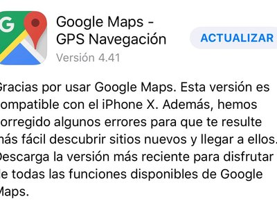 Google pisa el acelerador para adaptar Google Maps al iPhone X: Gmail y Play Music a la espera