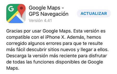 Google pisa el acelerador para adaptar Google Maps al iPhone X: Gmail y Play Music a la espera