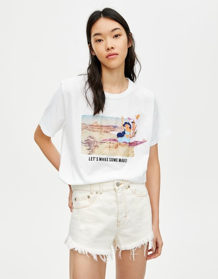 Camiseta Disney Pull Bear 04