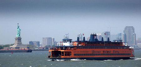 En ferry de Manhattan a Staten Island