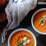 Este gazpacho suave de sandía podría convertirse en tu receta del verano