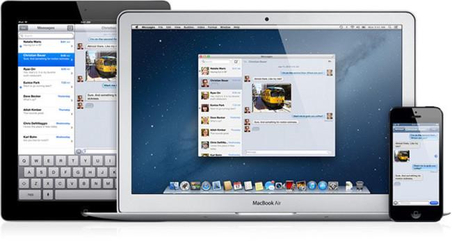 Mensajes para iOS y OS X